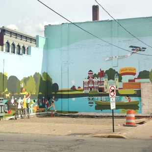 Collaborative Shelbyville Mural