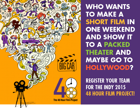 Make a film in 48 Hours! Registration Opening Soon