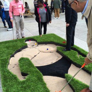 IMA Mini Golf: Dick the Bruiser