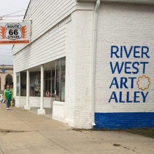 River West Art Alley