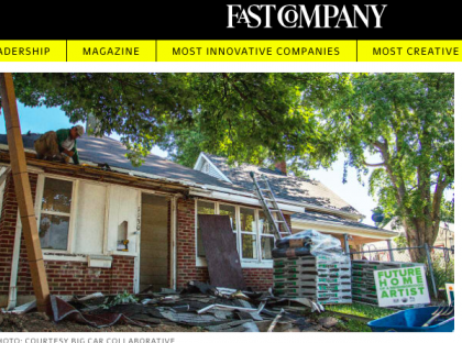 Check out media coverage of our artist housing project