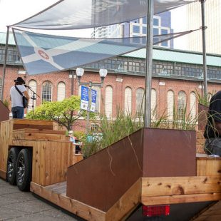 Mobile Parklet by Brose Partington