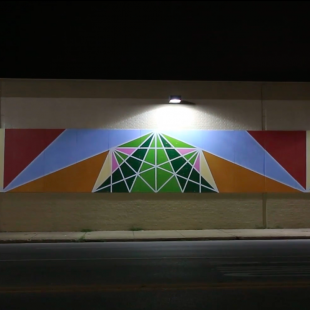 Jose Di Gregorio Mural on Safeway