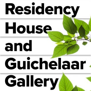Residency House, Guichelaar Gallery, community garden