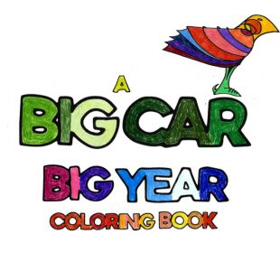 A Big Year Coloring Book