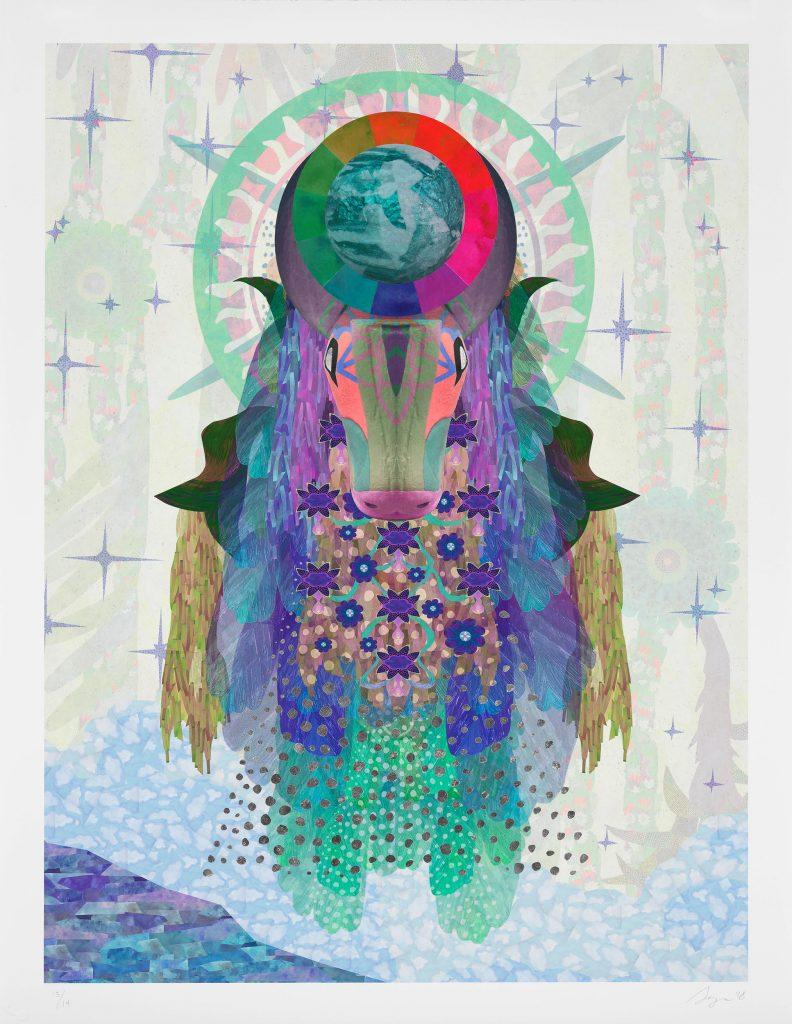 Art by Saya Woolfalk